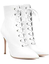 Y Zapatos Mujer es Complementos Amazon Arriba Para Botas YfwnB6xOSq