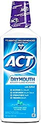 2 Pack - ACT Total Care Dry Mouth Anticavity Mouthwash, Soothing Mint 18 oz