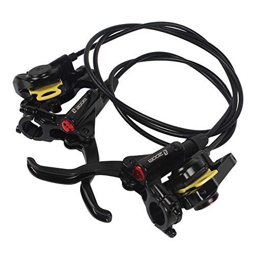 vrsupin88 Fahrrad-Bremsset, langlebige Teile, universal, hydraulische Scheibe, Radfahren für Mountainbikes und Verschiedene Fahrräder, Schwarz, Free Size -