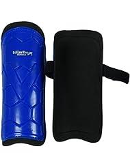 Wintex Shin Garde Poids Léger Bleu Pvc Matériel Hockey Manchon Cheville - 25 X 19 Cm