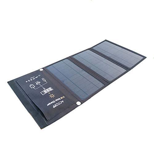 Wireless Solar Folding Pack 21 Watt Notfall Dual USB Portable Outdoor Camping Ladegerät Kompatibel mit Allen Handys