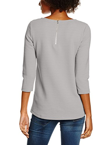 Only, T-Shirt Femme Gris (Light Grey Melange)