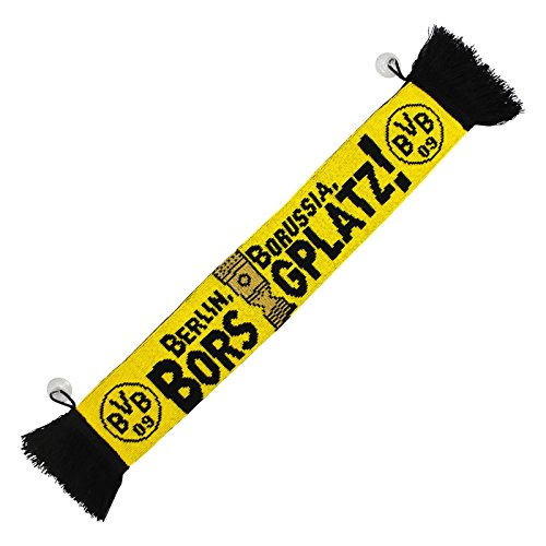 'Auto Schal DFB trofeo Victoria Borussia Dortmund + Gratis Pegatinas Dortmund Forever,/bufanda/rassis/Viciado Encuentro bufanda