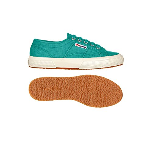 Superga 2750- Cotu Classic, Low-top mixte adulte COLUMBIA GREEN