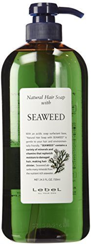 Lebel Cosmetics | Shampoo | Natural Hair Soap With Seaweed Shampoo 720Ml (Japan Import)