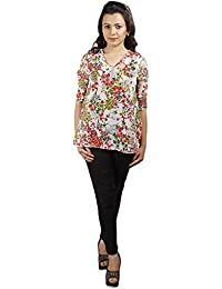 Gugg Women's Self Design TOP [GS16A32_BEIGE]