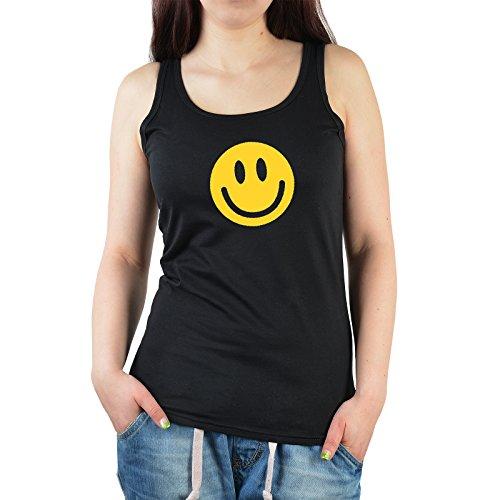 Smiley Halloween Trägershirt für Damen : Smiley -- Tank Top Gotik / Halloween Farbe: schwarz Gr: S