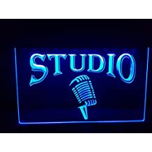 Studio Bombilla LED Cartel Cartel Cargar Reklame Neon Neon Cartel Bar Discoteca on Air TV Radio