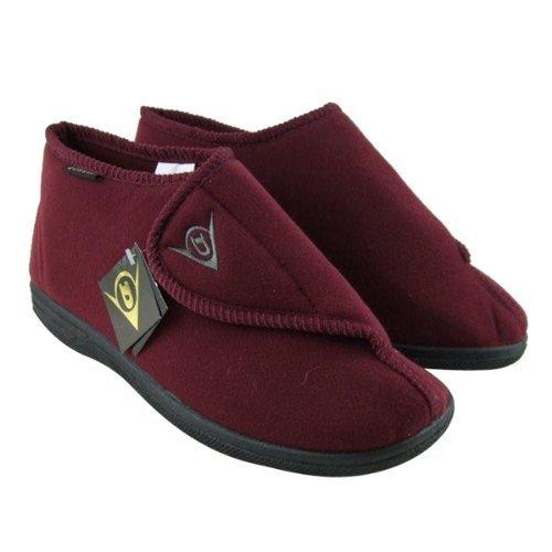 Dunlop , Chaussons pour homme Rouge - Bordeaux