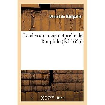 La chyromancie naturelle de Ronphile
