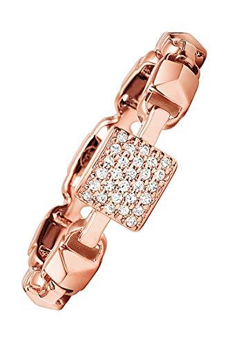 Michael Kors Damen-Damenring 925er Silber 55 Rosé 32000192