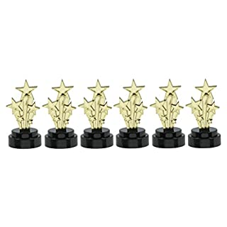 amscan International Lot de 6 trophées Hollywood