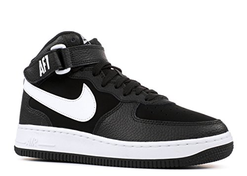 Bild von NIKE Jungen Air Force 1 Mid (Gs) Basketballschuhe, schwarz