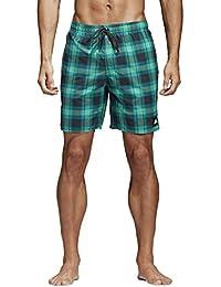 Adidas Men's Chequered ML Shorts, Men, Check Shorts ML