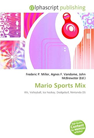 Mario Sport Mix Wii - Mario Sports Mix: Wii, Volleyball, Ice hockey,