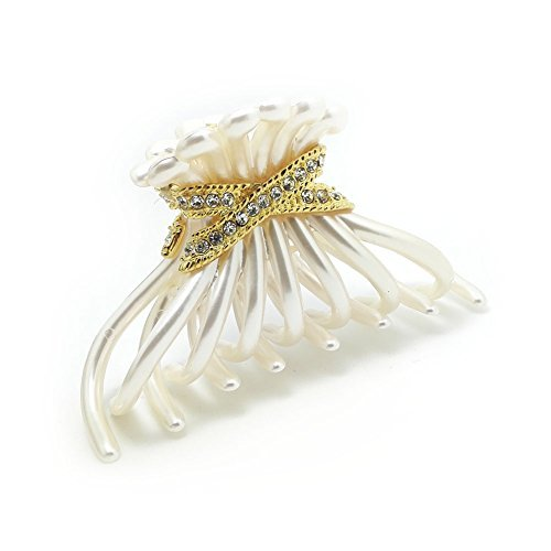meilliwish-noble-women-girls-ponytail-holder-hair-claw-clipd36white