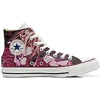 Converse Custom Slim personalisierte Schuhe (Handwerk Produkt) Infinity Texture  42 EU