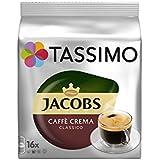 Tassimo Jacobs Caffé Crema Classico (16 Portions) (Pack de 2)