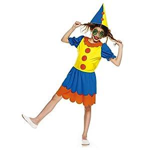 Aec-aq02022/L-Disfraz Pequeña Clownette Talla 9/11años (150cm)