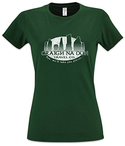 CRAIGH NA DUN TRAVEL CO. Damen T-Shirt -