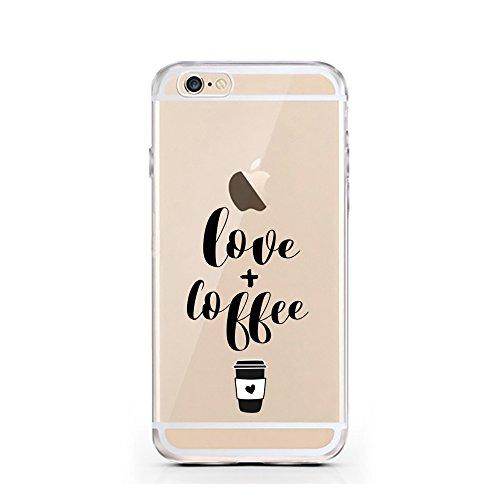 iPhone 6 6S cas par licaso® pour le modèle Don't worry Beyoncé Chanteur la Musique TPU 6 Apple iPhone 6S silicone ultra-mince Protégez votre iPhone 6 est élégant et couverture voiture cadeau Love + Coffee