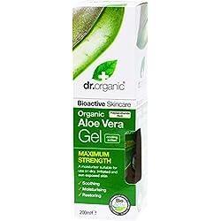 Dr.Organic Aloe Vera Gel Corpo Aloe Doppia Forza 200 ml