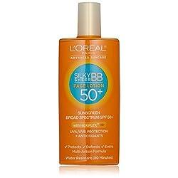 LOreal Paris Advanced Suncare SPF 50 Plus Liquid Silk BB Sunshield For Face, 1.7 Ounce