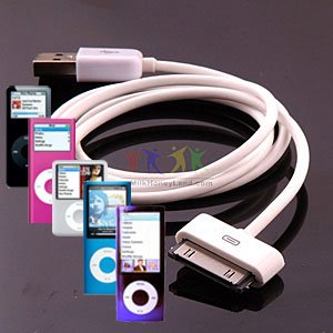 techgear-cble-usb-transfert-de-donnes-haute-qualit-oem-pour-apple-ipod-nano-1gb-2gb-4gb-8gb-and-16gb