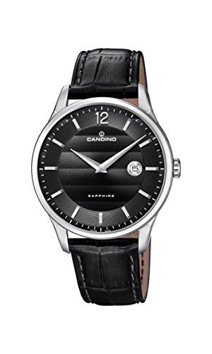 Candino Reloj Análogo clásico para Hombre de Cuarzo con Correa en Cuero C4638/4