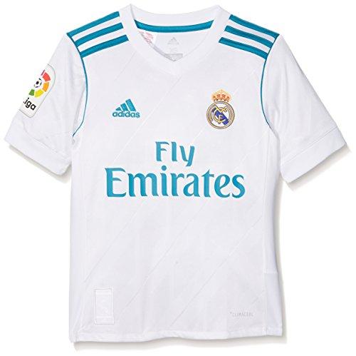 adidas Real H Jsyy Lfp Camiseta, Niño Unisex, Blanco / Azuint, 140