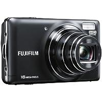 Fujifilm FINEPIX T400, Fotocamera Digitale 16 MP, Zoom 10x 28-280 mm, Stabilizzatore Meccanico, Schermo LCD 3 Pollici, Colore Nero - Avviso Stamp