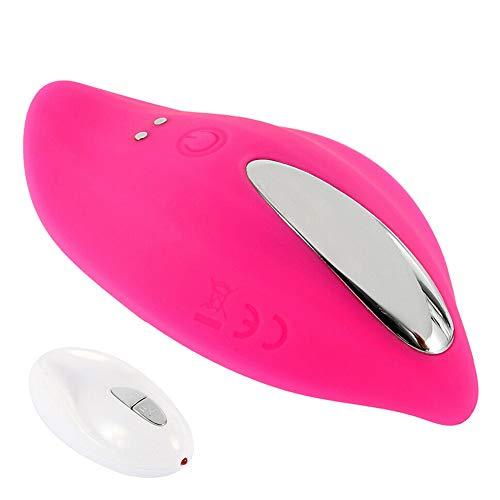 YouQDOLL Bragas Vibrador Usable Vibrador inalámbrico Recargable Masajeador Control remoto pink -Juguete coqueteando