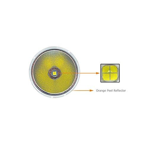AceBeam K60 CREE XHP70 5000 Lumen 700 Meter LED Taschenlampe hellste Taschenlampe - 3
