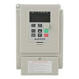 1Pz Convertitore di frequenza inverter VFD AC 220V, Convertitore di frequenza 1.5KW, regolabile per il controllo della…