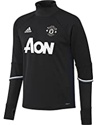 adidas Manchester United Trg Top - Sudadera para hombre, color negro / azul / blanco, talla 4XL