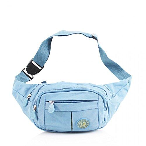ydezire® Unisex cintura cinturón de viajes dinero pasaporte cartera estuche billete Bum bolsa de Fanny Pack Festival