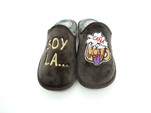 Se Me Ríen Los Pies Zapatillas de Casa Para Hombre -Soy La. Caña (40)
