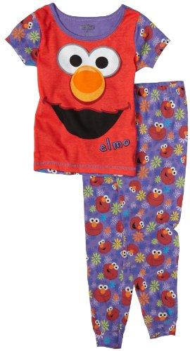 Sesame Street -  Pigiama due pezzi  - ragazza viola viola