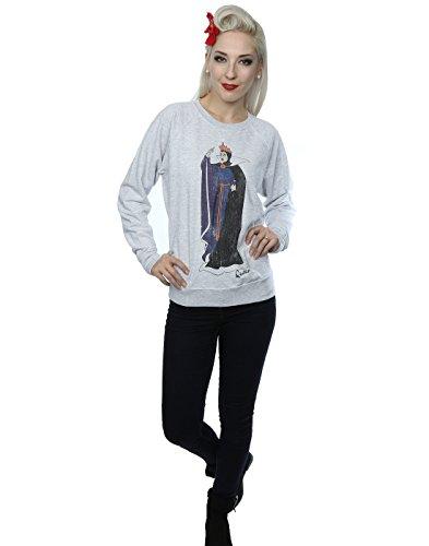Disney Femme Classic Evil Queen Grimhilde Sweat-Shirt Heather Gris