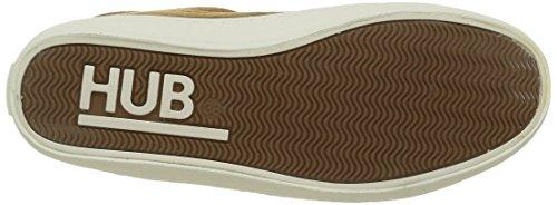 Hub Queen N30, Sneakers basses femme Braun (Cognac 149)