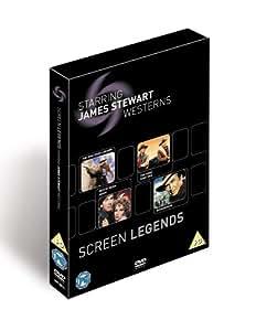 Screen Legends: James Stewart - The Westerns [DVD]