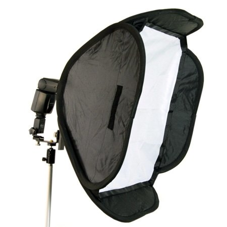 METTLE Mobile Systemblitz-Softbox mit Kugelkopf 40 x 40 cm