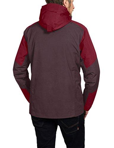 VAUDE Herren Doppeljacke Gald 3-in-1 Jacket raisin