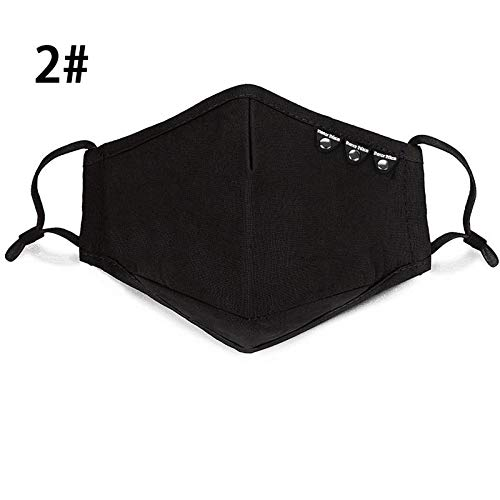 Back To Search Resultsbeauty & Health Personal Health Care Imported From Abroad 1pcs Dust Mask Anti Pollution Mask Pm2.5 Activated Carbon Filter Insert Can Washed Reusable Pollen Masks Cotton Mouth Masks
