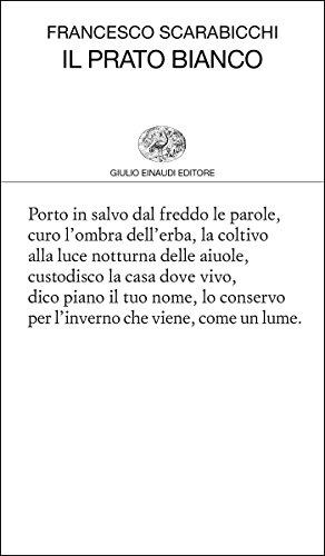 il-prato-bianco-collezione-di-poesia-vol-442