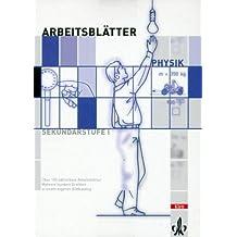 Arbeitsblätter Physik. CD-ROM für Windows ab 95