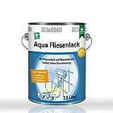 Jaeger Aqua Fliesenlack 875 weiss 2,5l