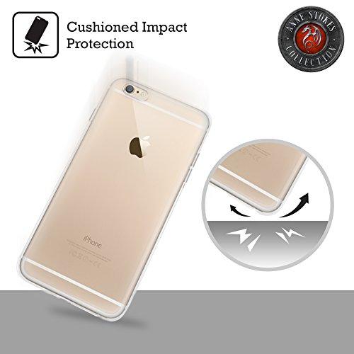 Offizielle Anne Stokes Lava Drachen Soft Gel Hülle für Apple iPhone 5 / 5s / SE Yin Yang Protektor