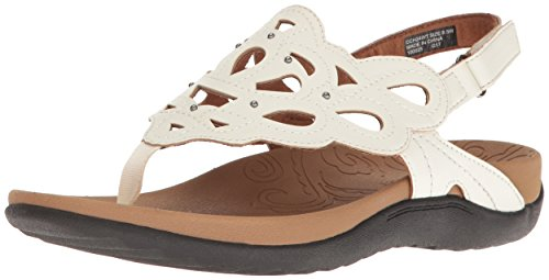Rockport - Chaussures Ridge Sling pour femme White Smooth