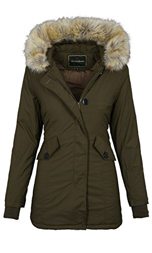 Golden Brands Selection -  Giacca  - Basic - Maniche lunghe  - Donna Olive